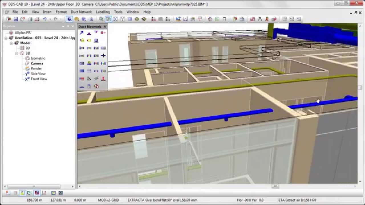 Dds cad 10 innovative ventilation design and calculation for Innovative heating systems