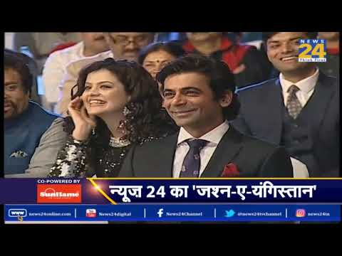 #JashnEYoungistan 2018: News24 honours Sunil Grover with Comedian of the Year Award  Sunil Grover