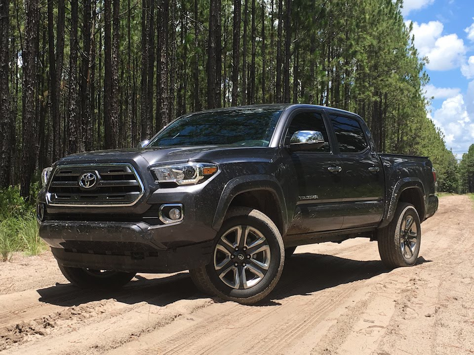 2016 Toyota Tacoma Limited Off Roading