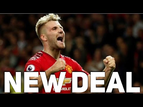 Luke Shaw to agree a new Manchester United contract | The Football Terrace