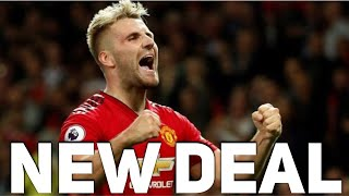 Luke Shaw to agree a new Manchester United contract   The Football Terrace
