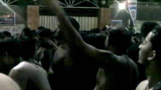 9th MUHARRAM 2009 KHURASAN KARACHI MATAM AT MA SADQE TERE HUSSAIN PUNJABI NOHA.