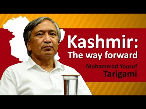 """""""Kashmir: The way forward"""" 