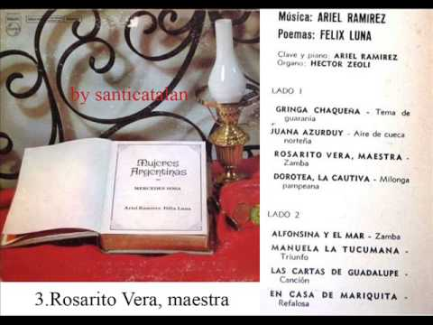 "Mercedes Sosa ""Mujeres argentinas"" (1969) full completo"