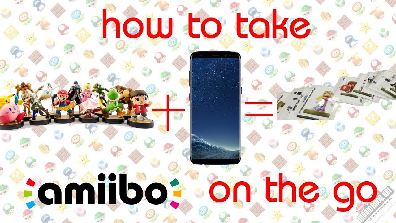 How To Make And Back Up Amiibo Create Custom Amiibo Cards Youtube