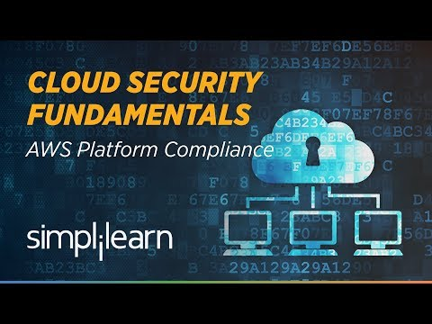 Cloud Security Fundamentals | Cloud Computing Tutorial | Simplilearn