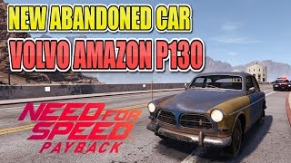 Need For Speed Payback NEW Abandoned Car #9 Location & Gameplay - Volvo Amazon P130