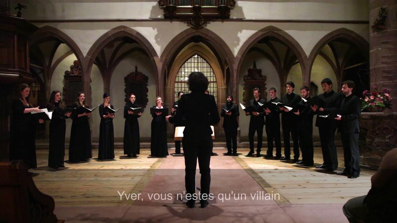 Trois Chansons de Charles d'Orléans - Vokalensemble Tradiophon