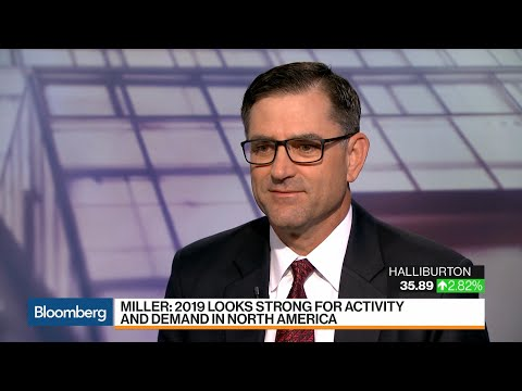 Halliburton CEO Sees Start Of 'Strong Cycle' For Oil, Gas And Services