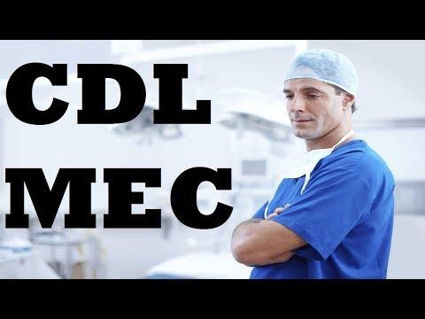CDL MEC - Medical Examiner's Certificate - DOT Medical Card