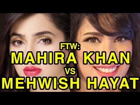 For The Win: Mahira Khan vs Mehwish Hayat