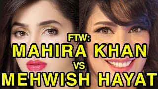 For The Win: Mahira Khan vs Mehwish Hayat