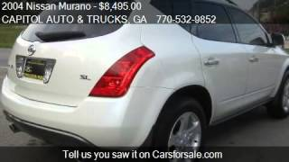 2004 Nissan Murano SL 4dr SUV for sale in Gainesville, GA 30