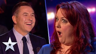 Unforgettable Audition: Funny Mummy Siobhan Phillips is a right GIGGLE! | Britain's Got Talent