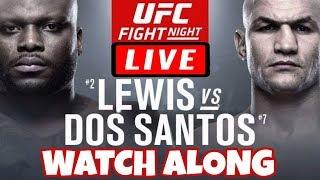 🔴 UFC FIGHT NIGHT 146 LIVE STREAM  - LEWIS VS DOS SANTOS LIVE REACTION