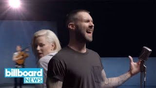 billboard hot 100 maroon 5 and cardi b reach no 1 with girls like you billboard news
