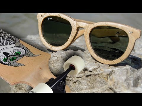 MONARCA Wooden Sunglasses from Longboard