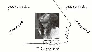 Baixar [Download Link] Taeyeon Something New – The 3rd Mini Album