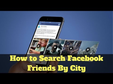 how to search facebook friends by city country university youtube
