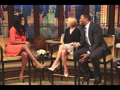 Gabrielle Union Talks About Proposal on LIVE with Kelly and Michael
