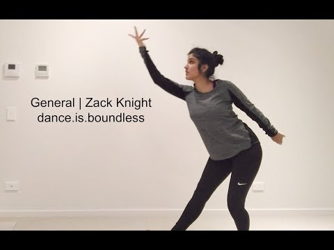 General - Zack Knight Choreography || dance.is.boundless