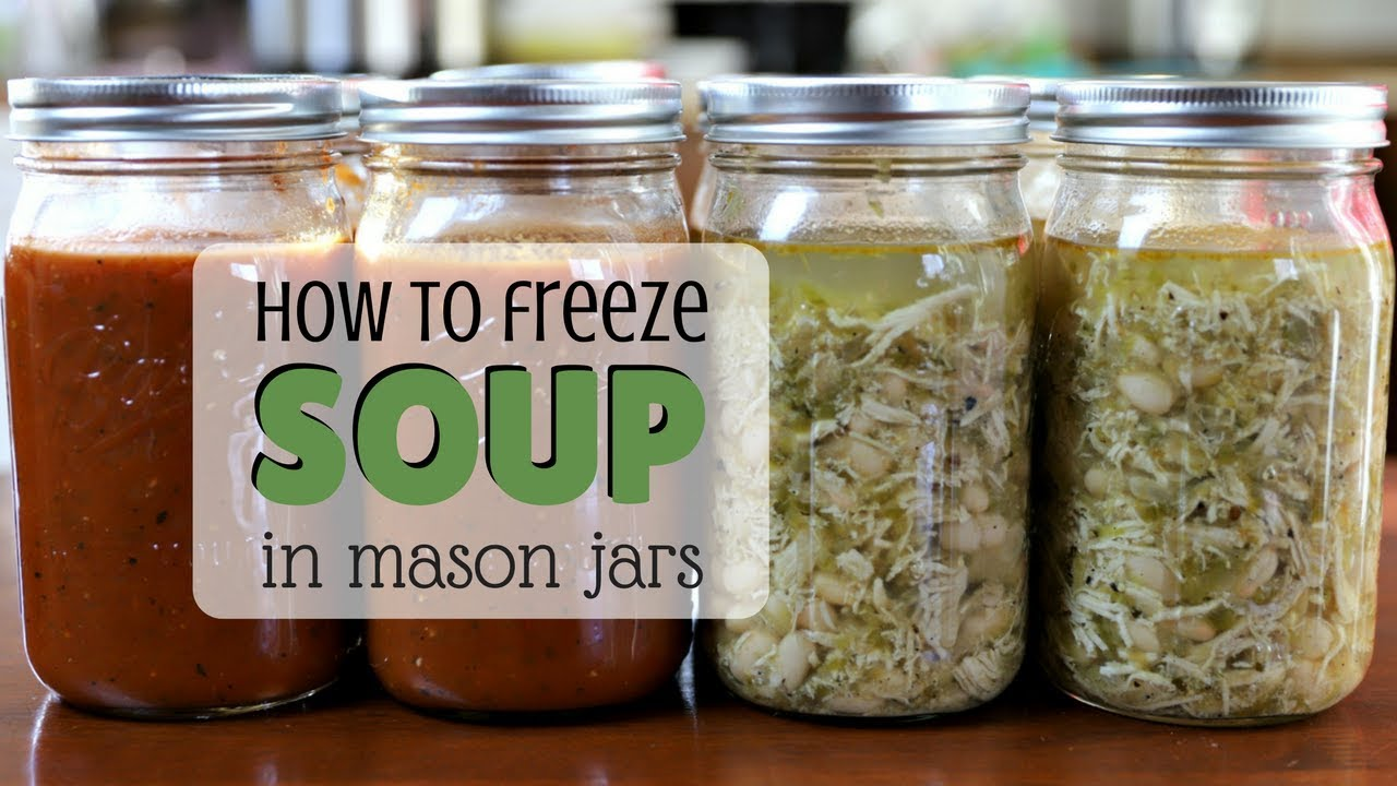 Freezing Soup In Gl Organizing A