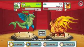 Dragon City T2 - Capitulo 7 - Dragones Tierra, Fuego, y Mar Dobles
