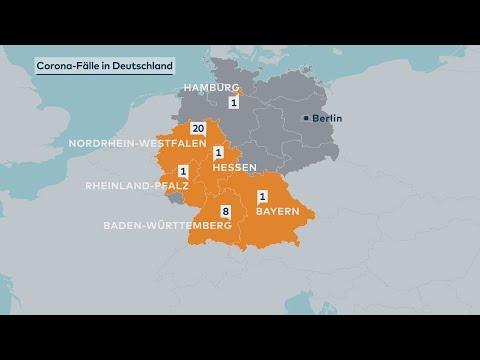 Coronavirus Deutschland: Innerhalb Weniger Stunden 21 Fälle Bestätigt – Auch In Hessen Und Hamburg
