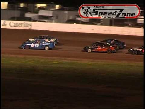 Oshkosh Speedzone Raceway - July 5, 2013 - Dirt Devil Feature