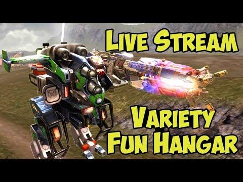 War Robots Fun-Variety Hangar Live-Stream - Full Export 3 Hours