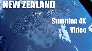 New Zealand : Earth from Space - Real Time Time Lapse Reconstruction