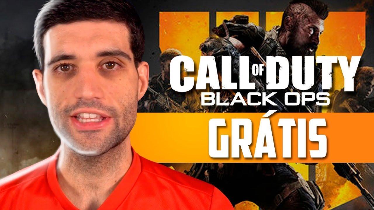 GAMEPLAYRJ - Call of Duty black Ops 4 Blackout está de graça, criador de PUBG abandona e o desastre