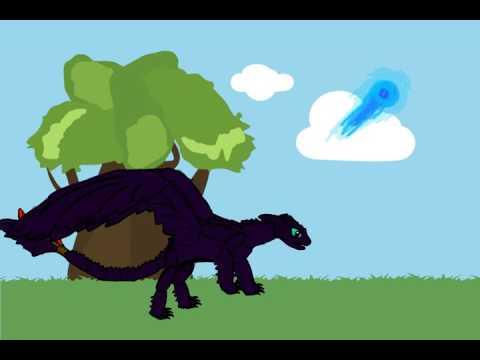 Nightfury animation