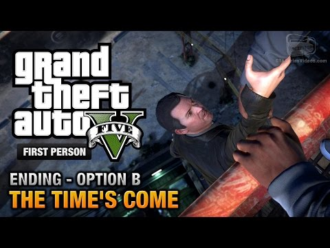 GTA 5 - Final Mission / Ending B - The...