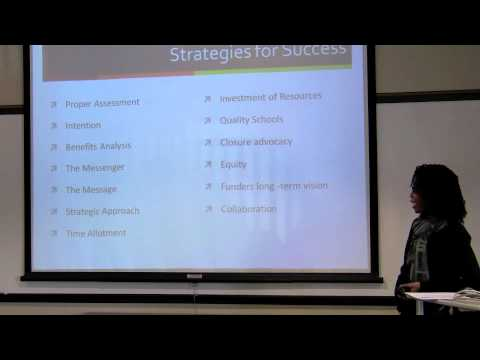 """The Charter Sector and Diversity"" with Makisha Boothe"