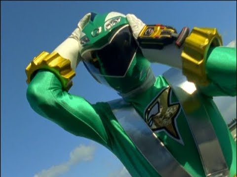 Power Rangers RPM  Go For the Green  Ziggy becomes the Green Ranger Episode 4
