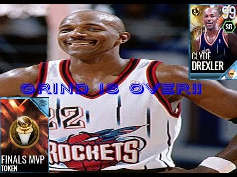 THE GRIND IS OVER!! GETTING FINALS MVP TOKEN!(nba live mobile 18)