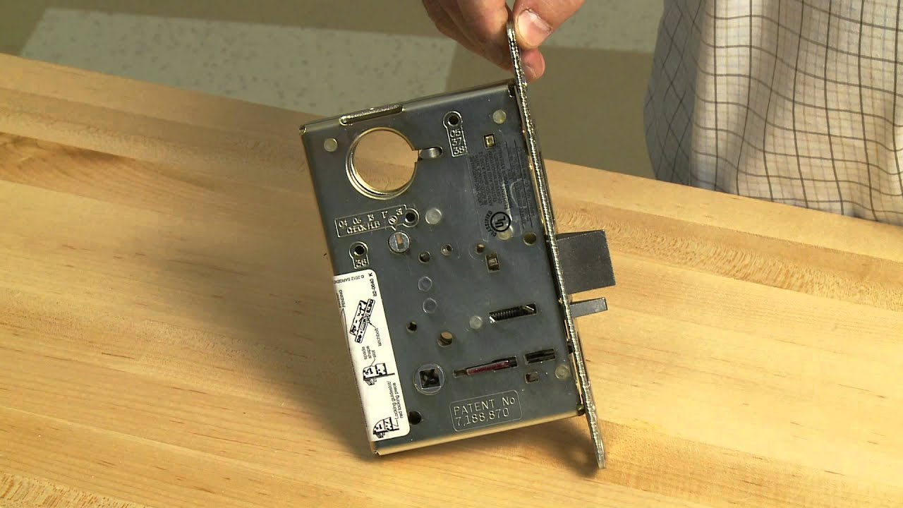 How To Change Functions On A Sargent Mortise Lock Youtube