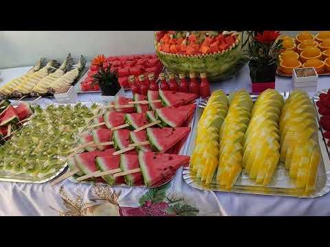 Mesa de frutas irada!