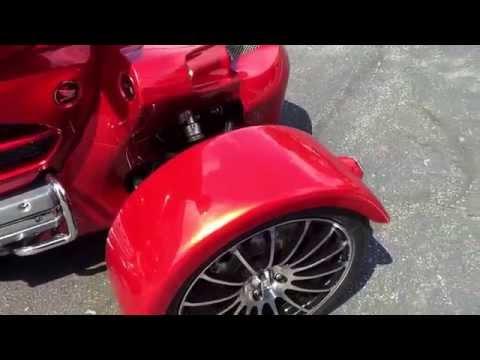 2014 Honda Goldwing level 2 w/ Sturgis reverse trike kit! $38,990