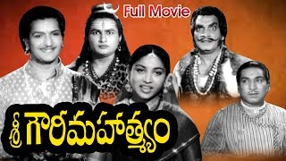 Sri Gowri Mahatyam Full Length Telugu Movie || NTR, Sriranjani, Relangi || Ganesh Videos - DVD Rip..