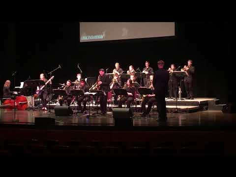 2018 ft zumwalt north high school jazz band performing at the greater St. Louis Jazz Festival