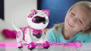 Робот- кошка Teksta Kitty - Мяукает, мурлыкает, , бегает, прыгает, ловит мышь......