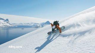 Anne-Flore Marxer, championne du monde de freeride ! (Snowboard)