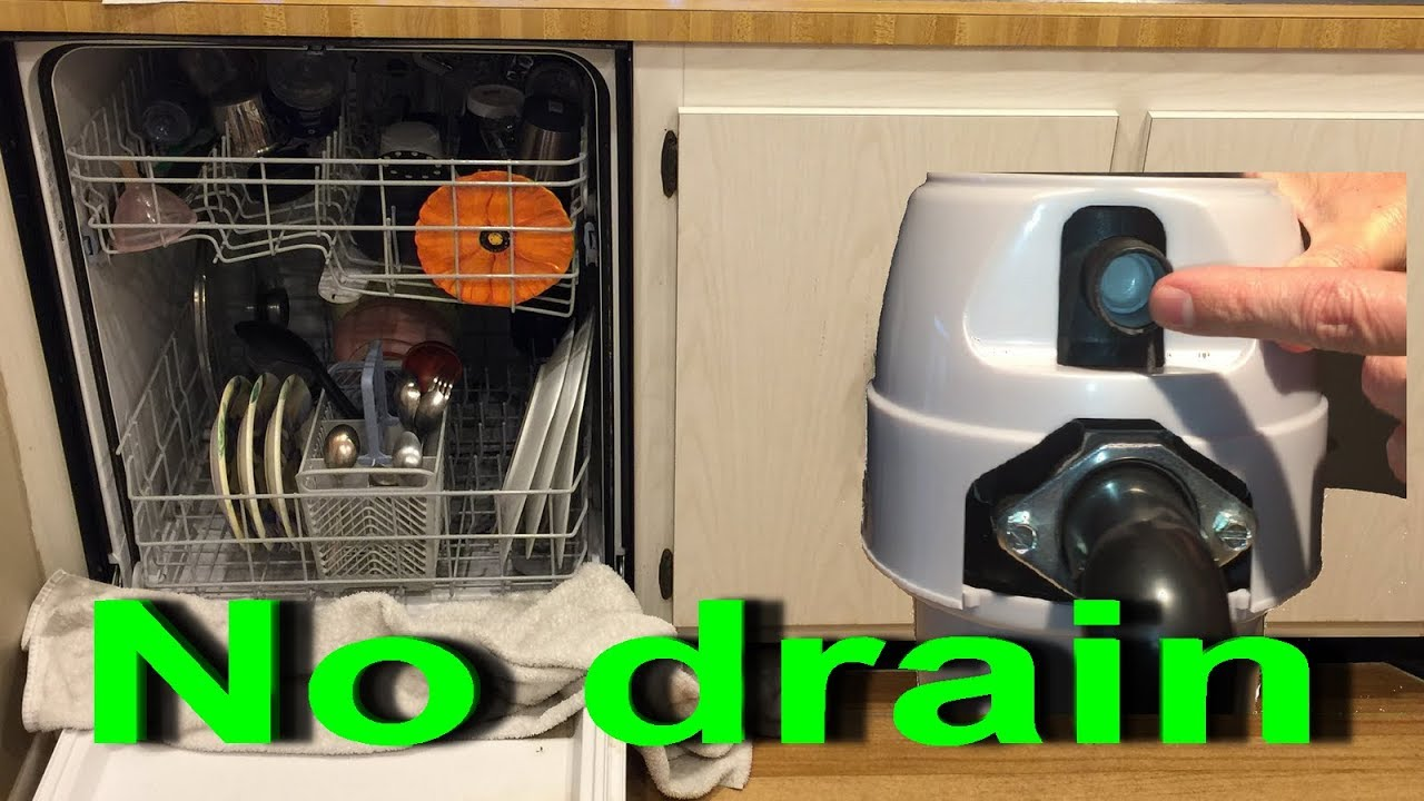 Dishwasher Not Draining After Garbage Disposal