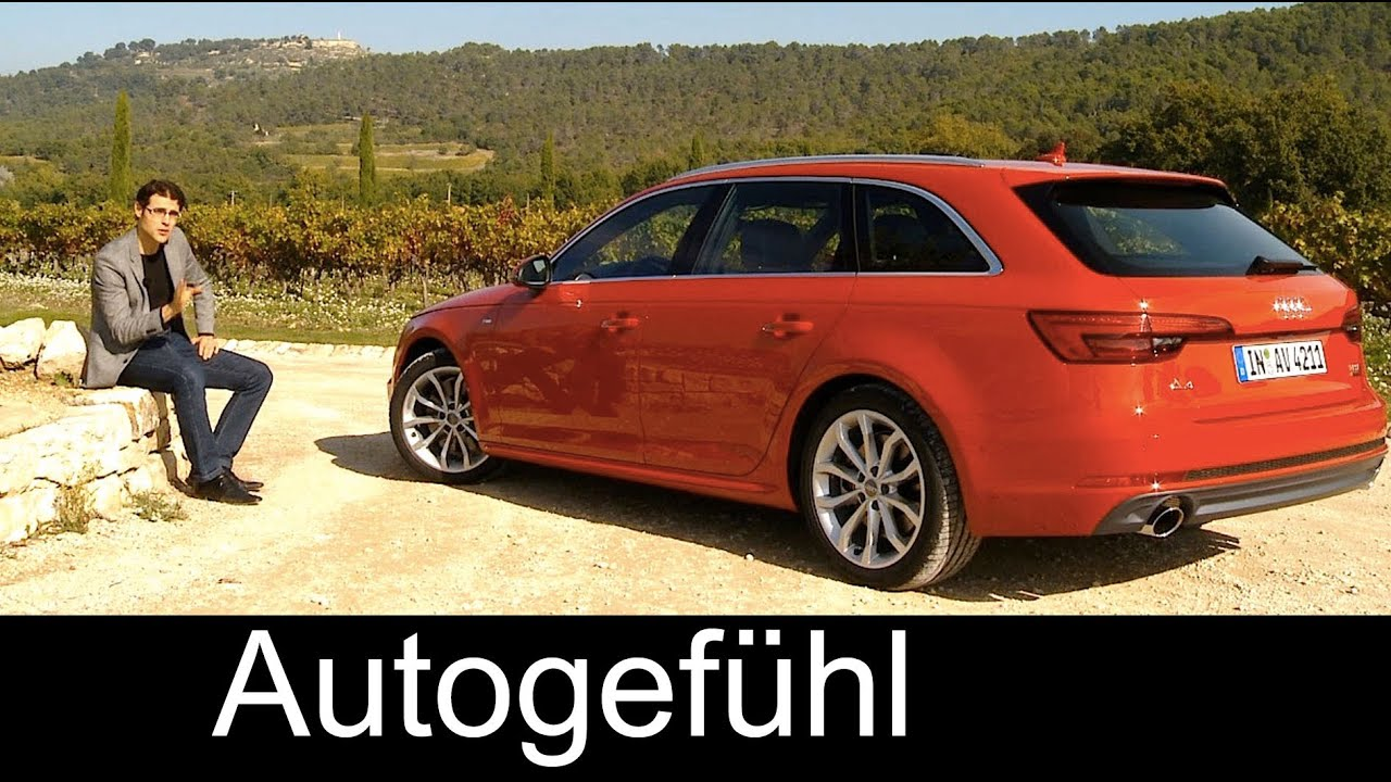audi a4 avant estate wagon kombi full review test driven quattro all new neuer 2016 youtube. Black Bedroom Furniture Sets. Home Design Ideas