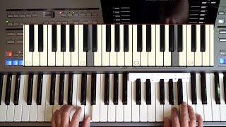 """Kurzdemo zum Lehrvideo """"KOORDINATION 2"""" (orig. 28min) - Keyboard spielen O-KEY Online-Keyboardschule"""