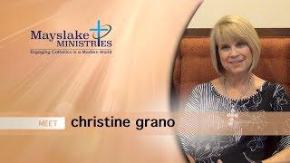 Mayslake Ministries  - Meet Christine Grano