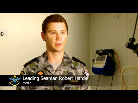 HMAS Choules medical staff assisting PNG Defence Force