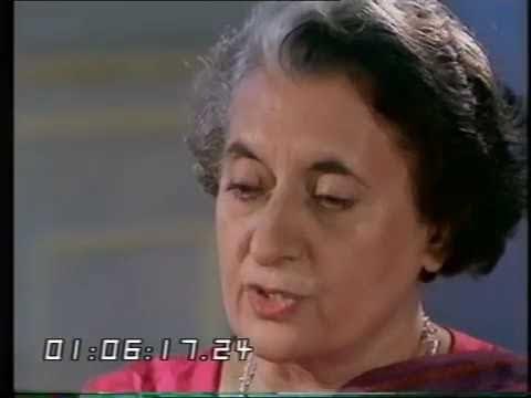 Indira Gandhi - Interview - TV Eye - 1978